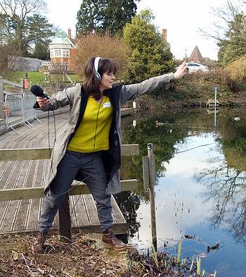 Caroline Devine, Rachael Marshall, Bletchley Park