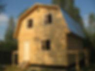 Дом из бруса г. Дмитров