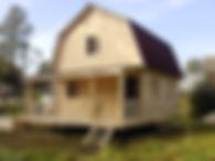 Дом из бруса под ключ