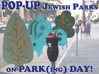 Jewish PARK(ing) Day is almost here!