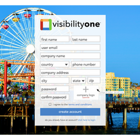 How to insert your company logo in your VisibilityOne profile