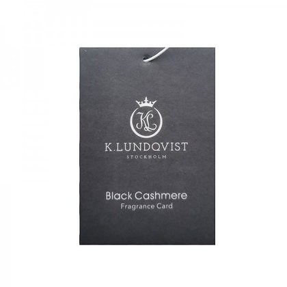 K. LUNDQVIST bildoft- Black Cashmere