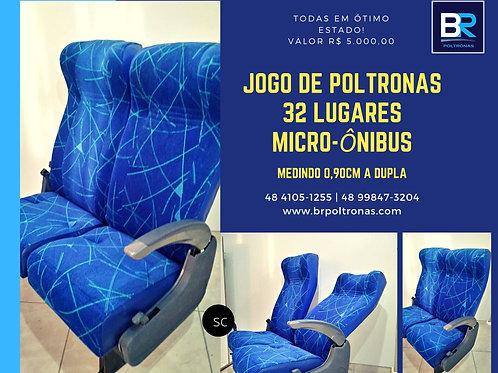 Código 97 - Jogo de Poltronas micro-ônibus