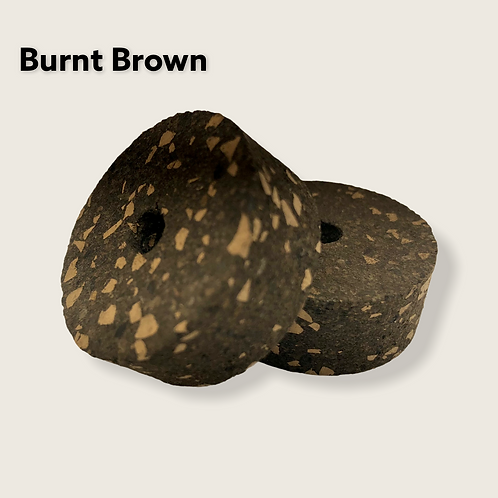 Burnt Brown Burl