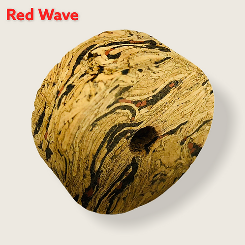 Red Wave Burl