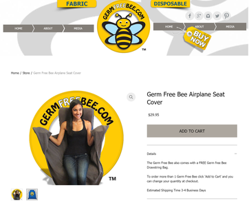 GERM FREE BEE