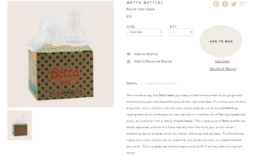 Betta Bottles