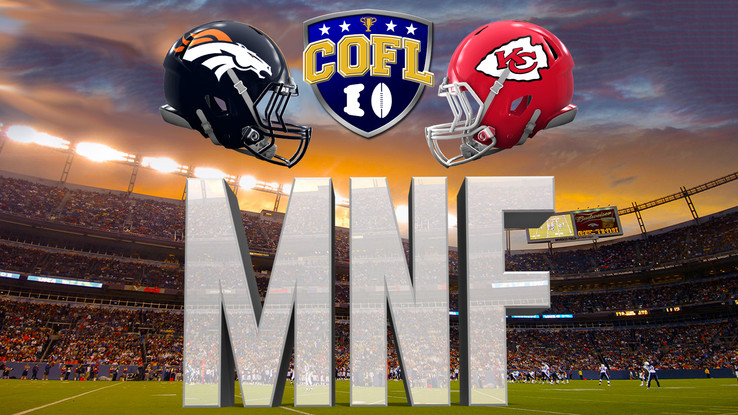 Monday Night Football Preview - Chiefs (12-0) @ Broncos (11-2)