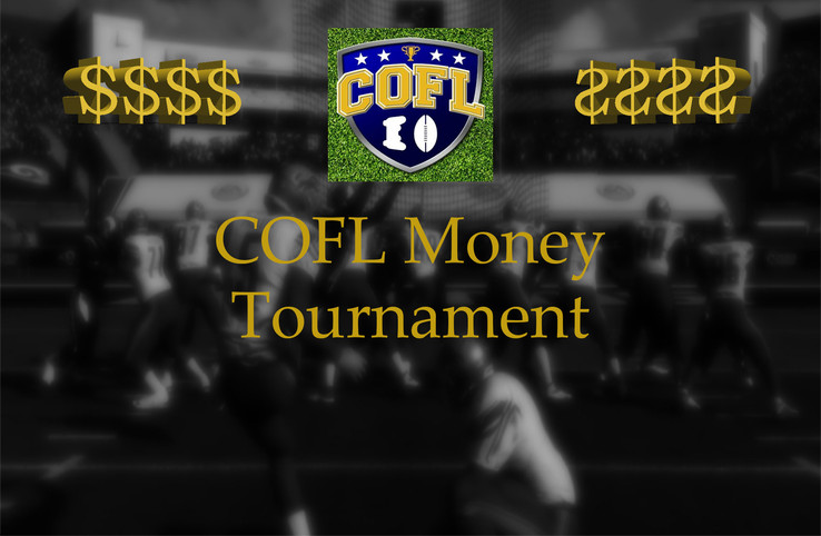Money Tournament: Brackets Released!!!