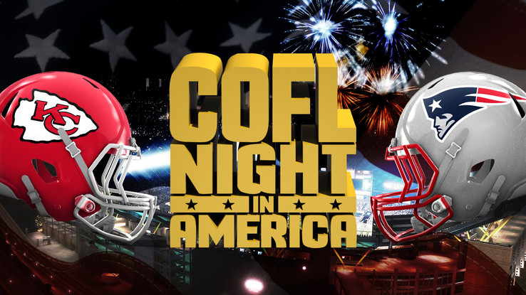 COFL Night In America Preview - Chiefs @ Patriots 9:30pm ET - Live on COFL Network 2