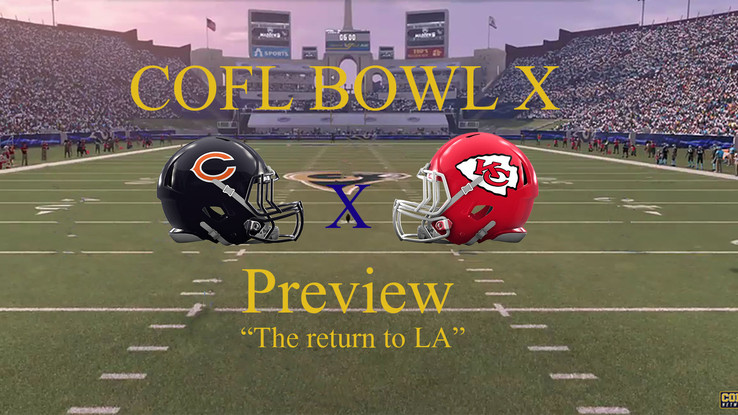 COFL Bowl X Preview: The Return to Los Angeles
