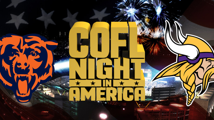 COFL Night In America: Bears (8-5) @ Vikings (8-5)