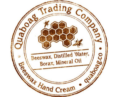 The logo of our supplier of local honey and beeswax for soap and lotion bars.