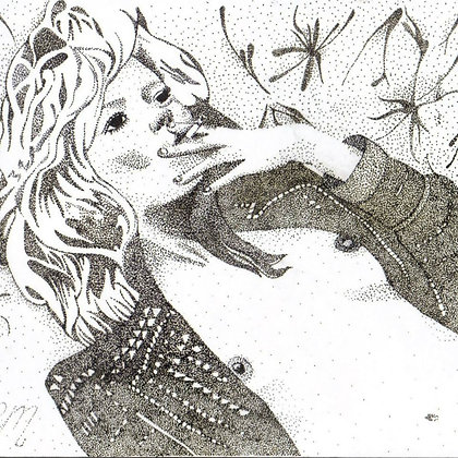 Framed hand drawn design