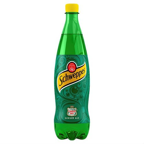 57. Schweppes Canada Dry Ginger Ale 1L