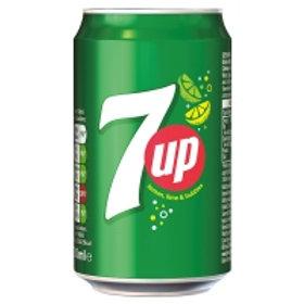 126. 7UP Regular 330ml 24X