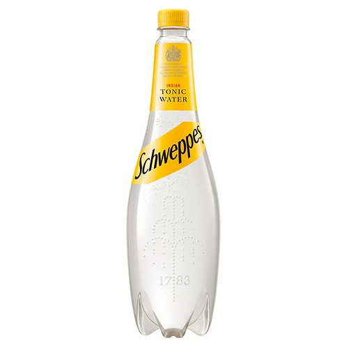 55. Schweppes Tonic Water 1L