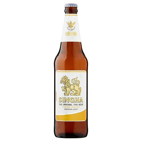 338. Singha Thai Beer Premium Import Lager Beer