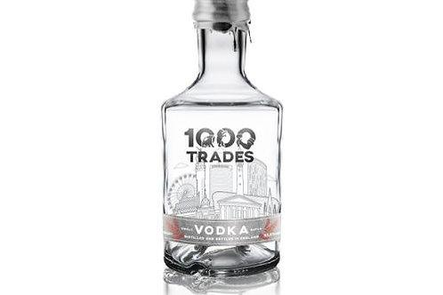 354.  1000 Trades Distillery Vodka 75cl