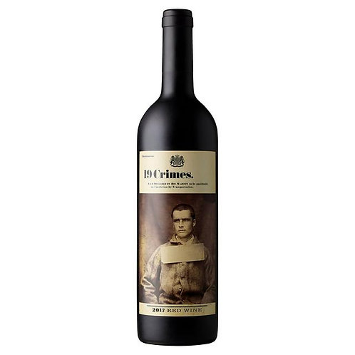 314. 19 Crimes Red Wine 75CL