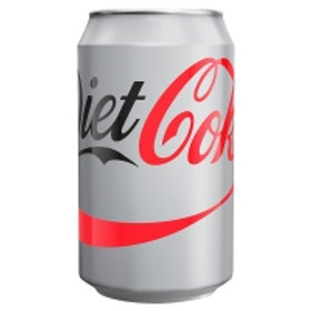129. Diet Coke 330ml 24X