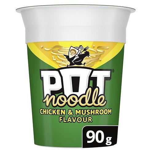 23. Pot Noodles Chicken & Mushroom 90g