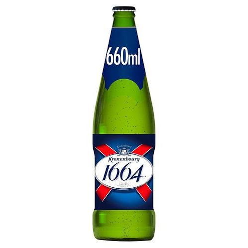 334. Kronenbourg 1664 Lager Beer Bottle