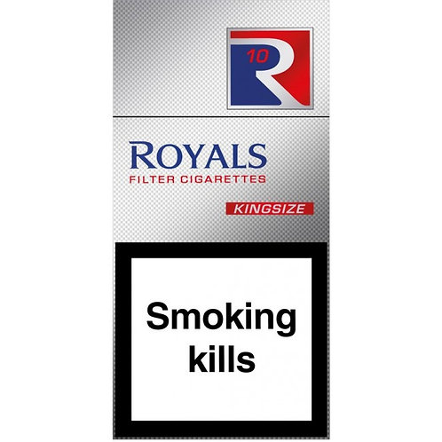 144. Royals King Size Red