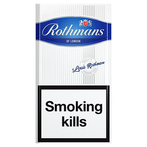 138. Rothmans Superkings Blue