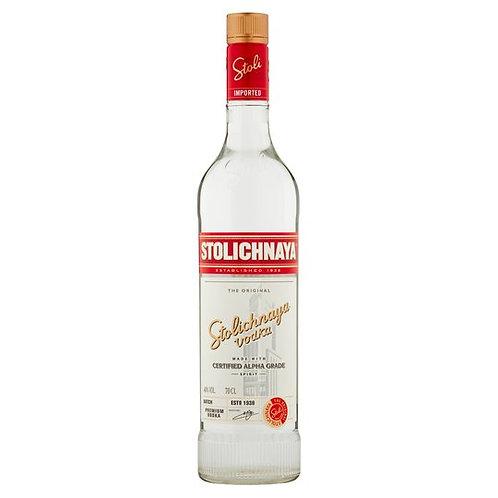 283. Stolichnaya Import Pri Vodka 70CL
