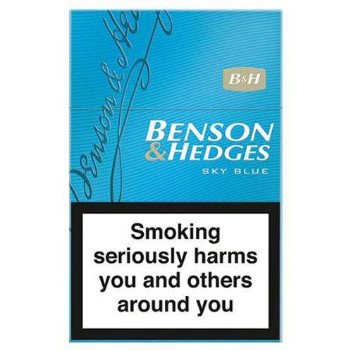 Benson And Hedges Sky Blue