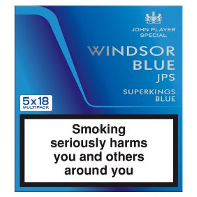 Windsor Blue Jps Superkings Real Blue