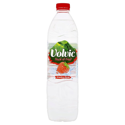 43. Volvic Strawberry Water 1.5L