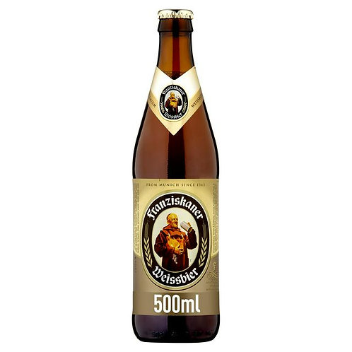 341. Franziskaner Weissbier German Wheat Beer Bottle