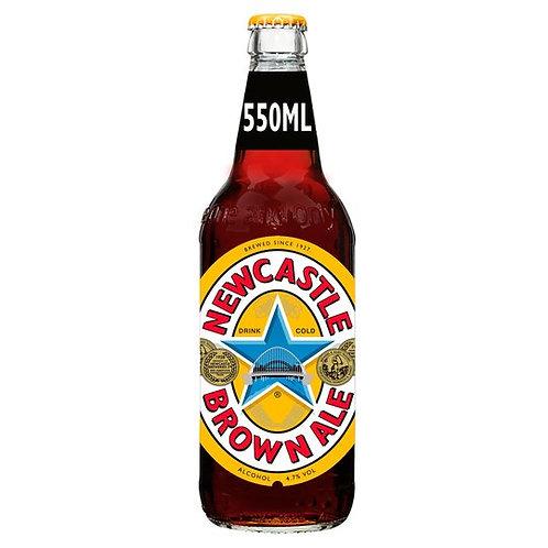 327. Newcastle Brown Ale Beer Bottle