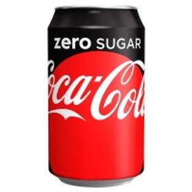 125. Coca-Cola Zero Sugar 330ml 24X