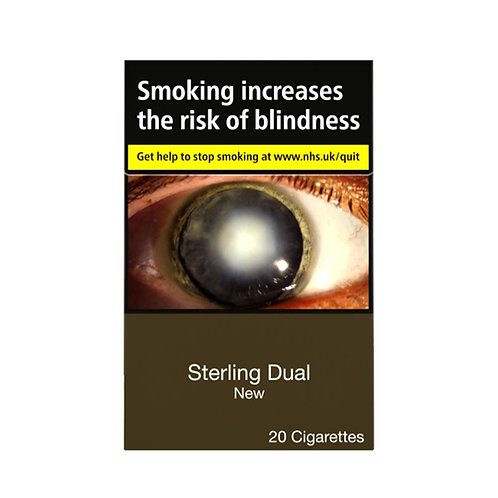 344. Sterling Dual Cigarettes 20 per pack