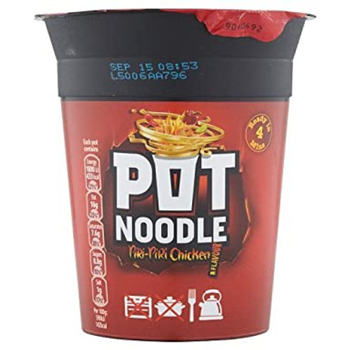 21. Pot Noodles Piri Piri Chicken 90g