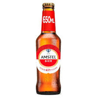 335. Amstel Lager Beer Bottle