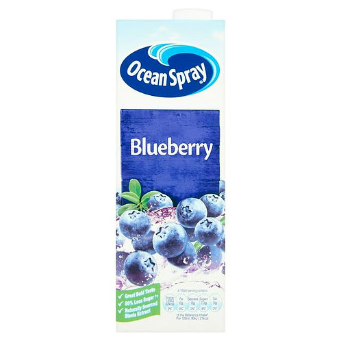 Ocean Spray Blue Berry Juice 1L