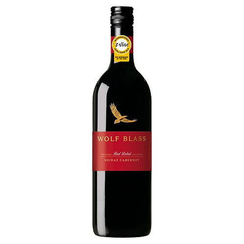 322. Wolf Blass Red Label Shiraz Cabernet 75CL