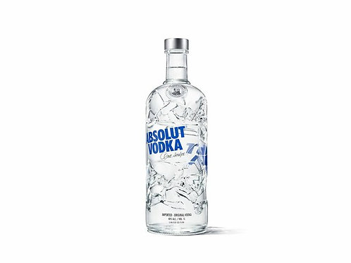 102. Absolut Vodka 70CL