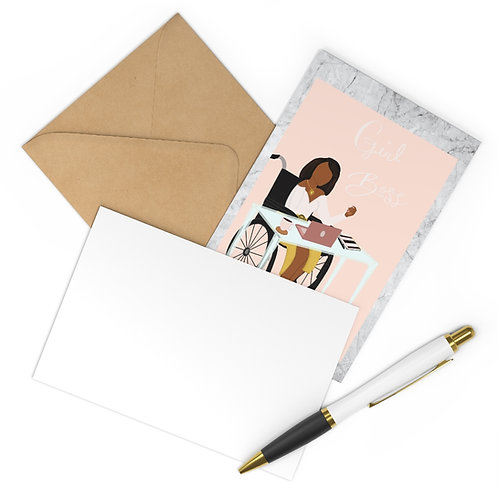 Girl Boss Postcards (7 pcs)