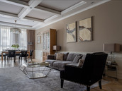Family room designer Albina Alieva
