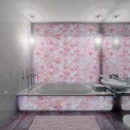 master bathroom in a duplex by Albina Alieva
