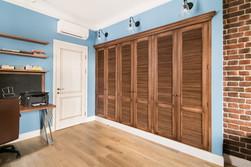 Built-in wardrobe in the kidsroom by Albina Alieva
