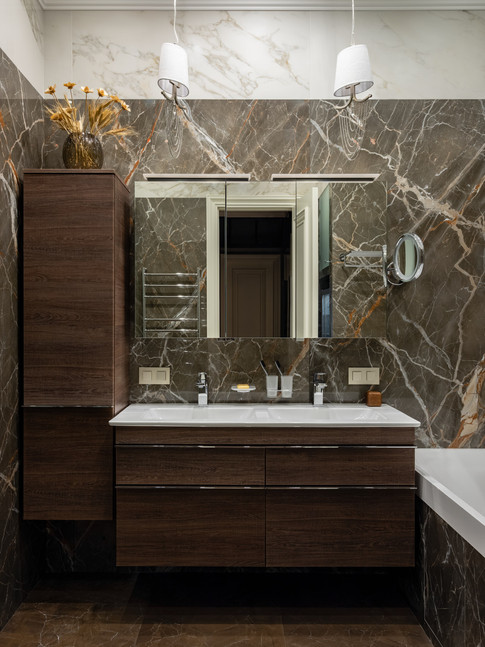 Master bathroom designer Albina Alieva