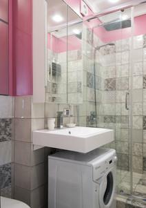 walk-in shower compartment design by Albina Alieva