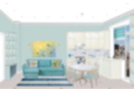 коллаж по кухне-гостиной вид 1 вар 3а_ed