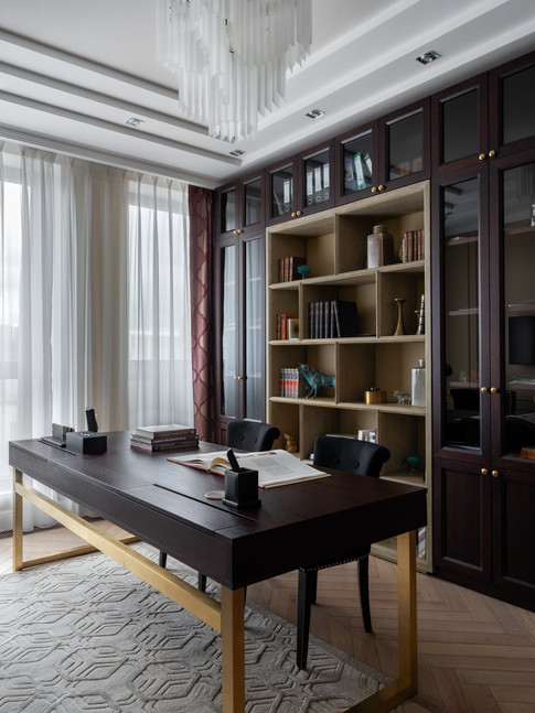 Home office designer Albina Alieva
